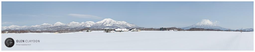 Annupuri Range Panorama, 13 February 2013