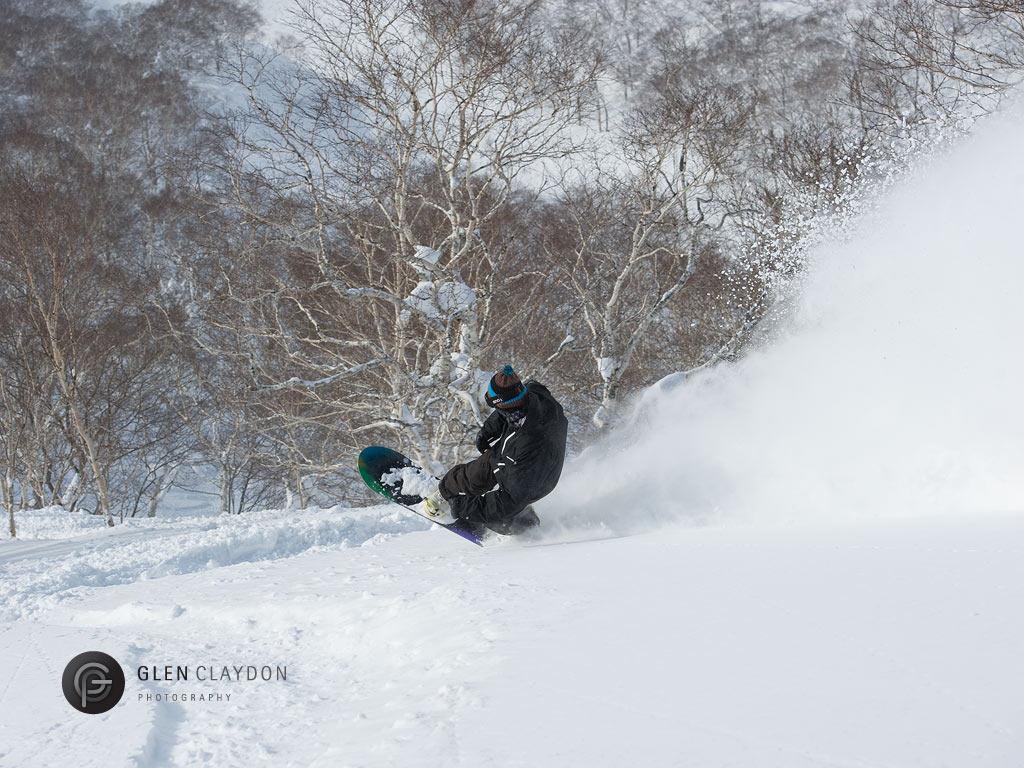 Akira drops into Osawa from Gate 8, 15 February 2013