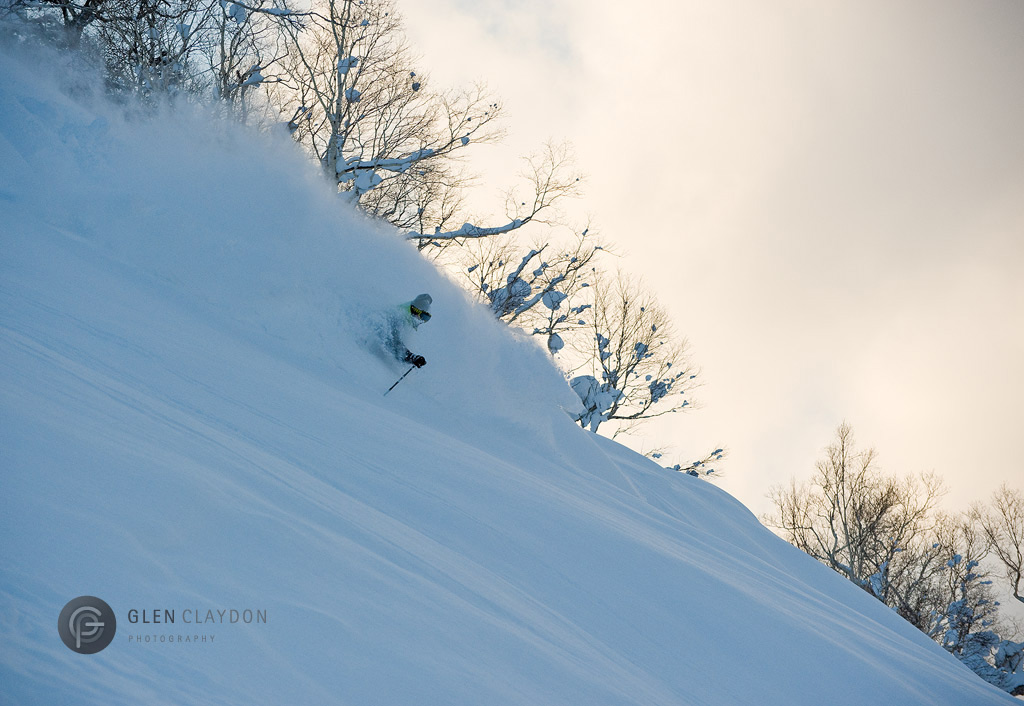 Dan Marion in the Niseko Backcountry, 11 March 2011