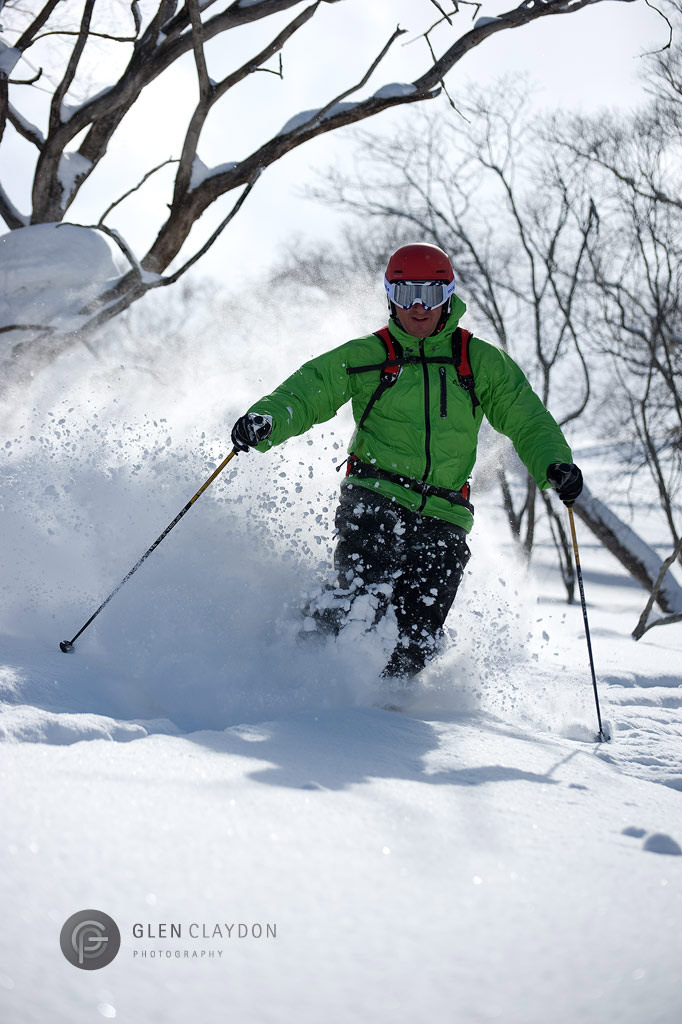 A happy pow smile - Hirafu, 23 March 2011