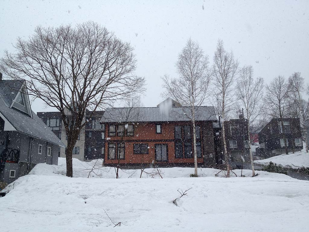 Heavy Snow in Hirafu Village, 3 May 2013