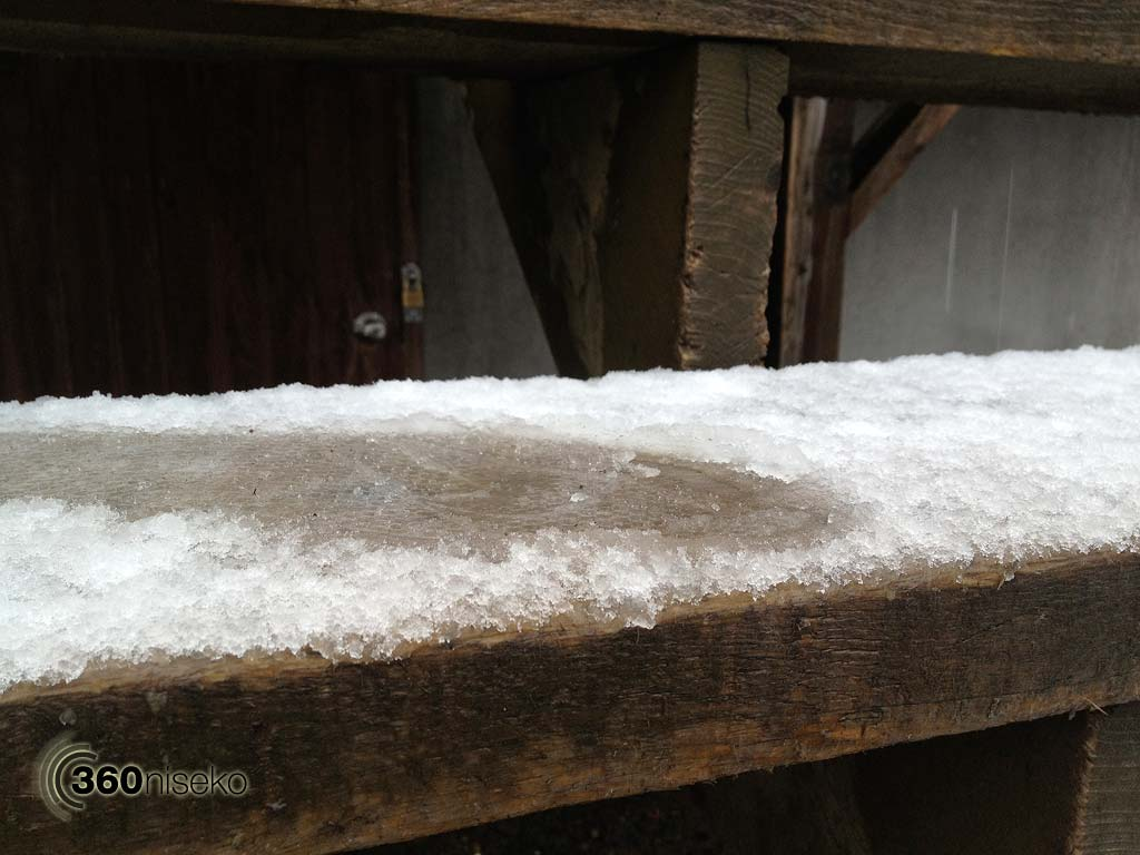 1cm of wet snow!! 3 May 2013