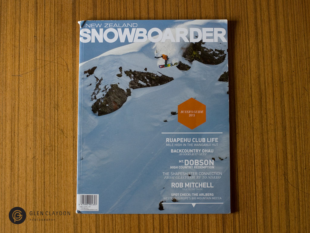 NZ Snowboarder issue #58 MAY 2013