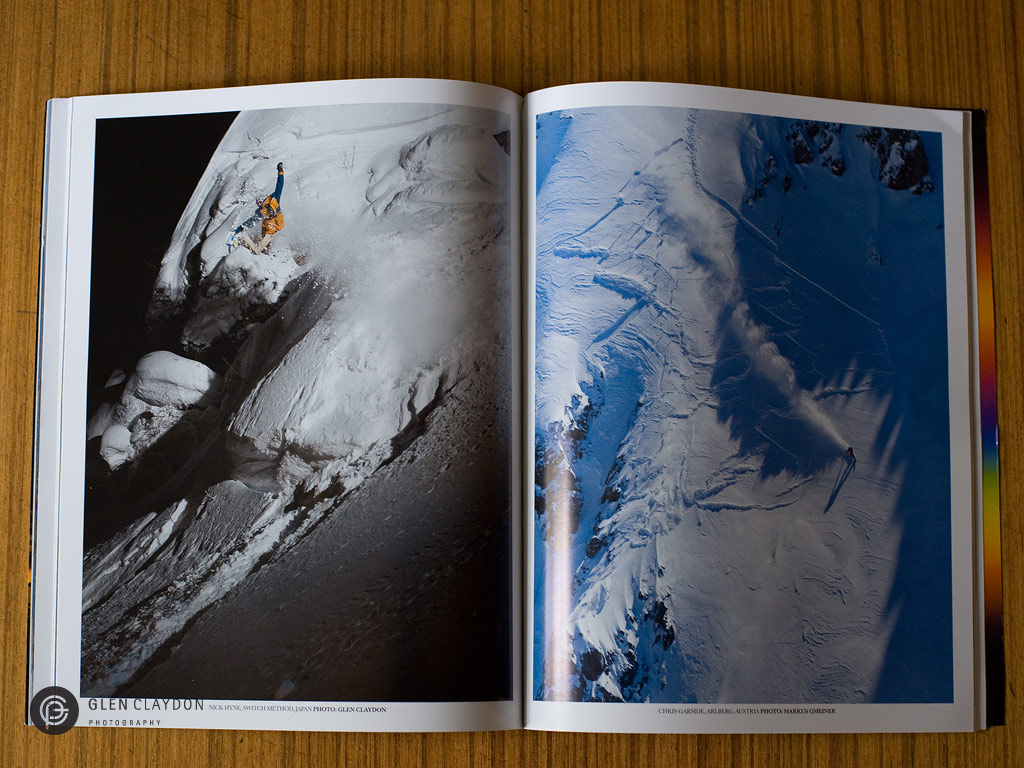 NZ Snowboarder issue #58 MAY 2013, left page Nick Hyne
