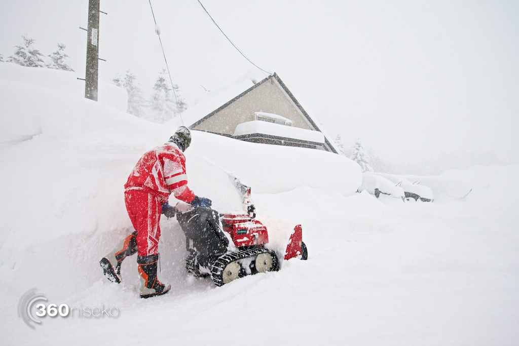 The Niseko Lawnmower