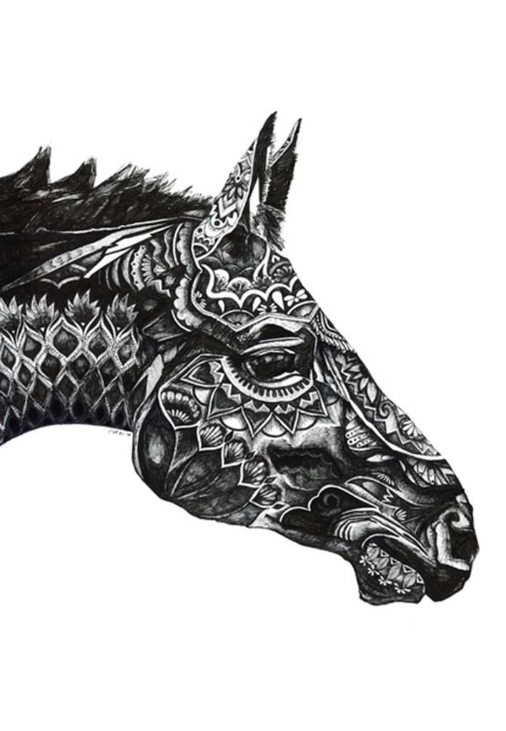 馬 (Horse) 2014 - Nikki Nairns