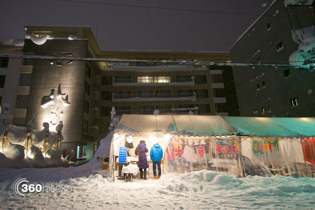 The Oyster Shack in front of Shiki Niseko