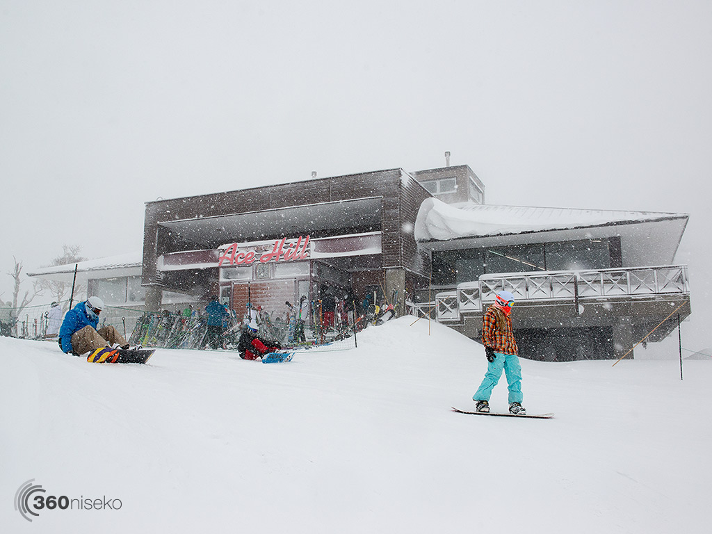 Ace Hill getting blasted, 2 January 2014