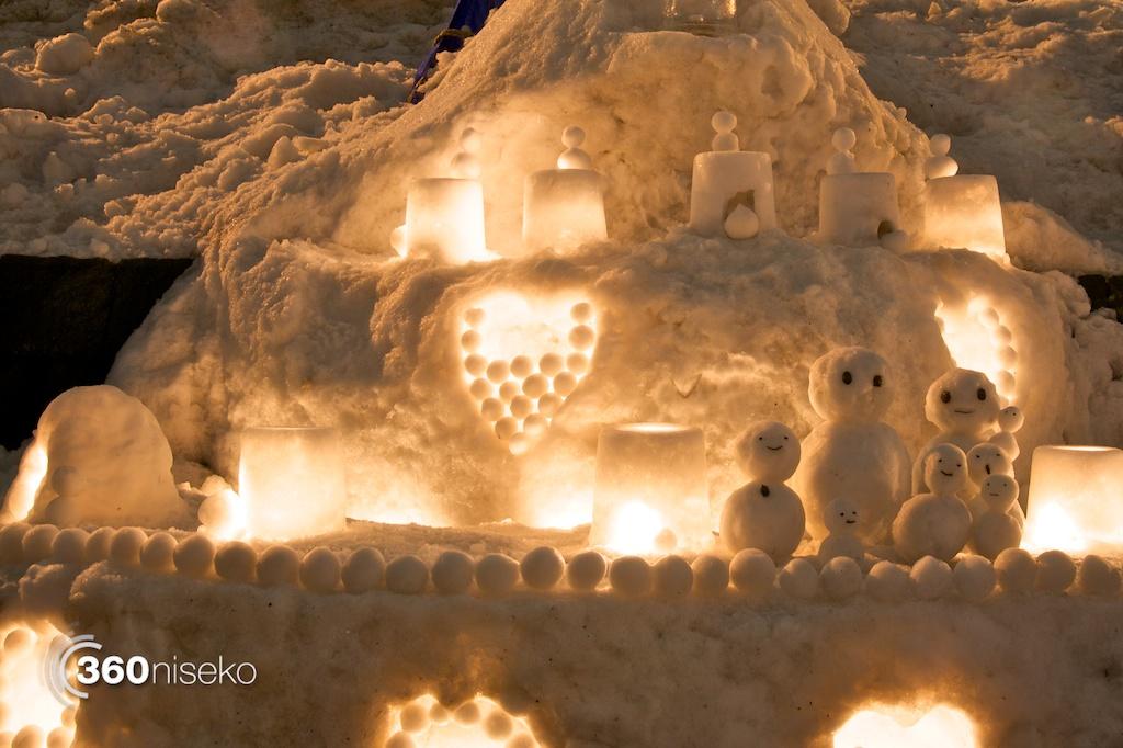 Otaru-Snow-Light-Path-Snow-Sculptures