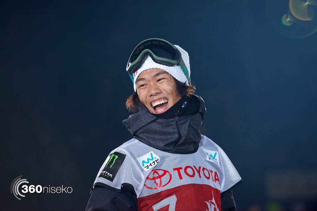 Yuki Kadono is all smiles after great results in qualification