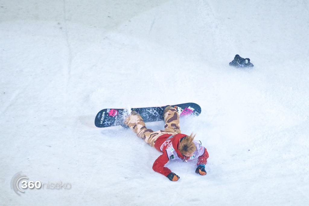 Toshiki Yamane crashes out of semi-finals