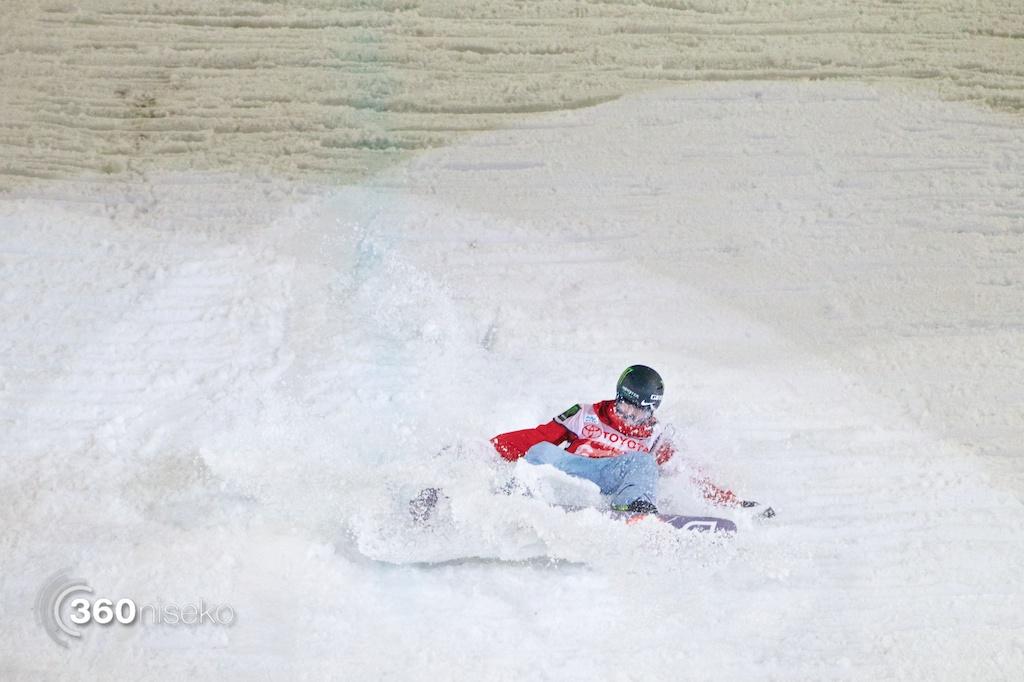 Peetu Piiroinen crashes out of the finals