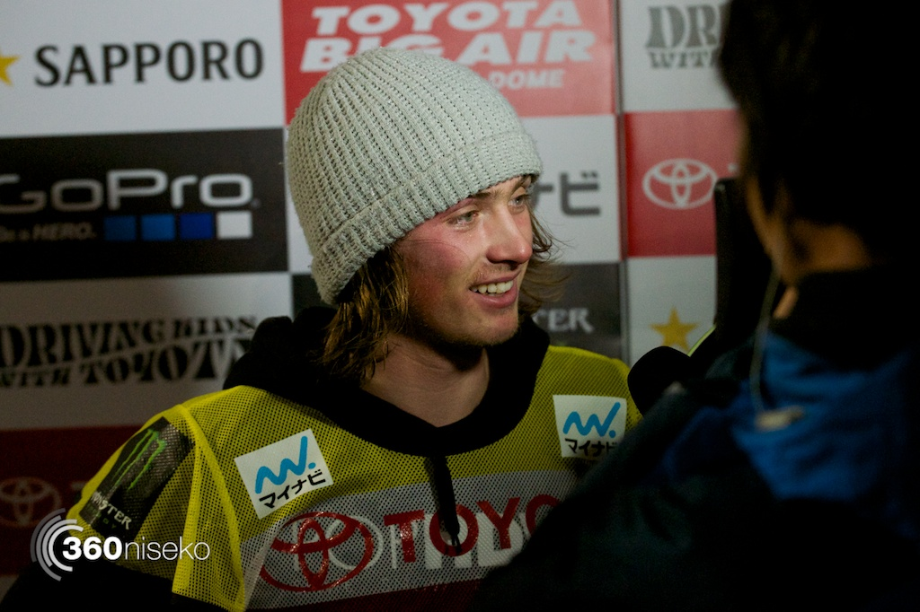 2013 Toyota Big Air winner, Antoine Truchon fails to qualify for the semi-finals after crashing out twice