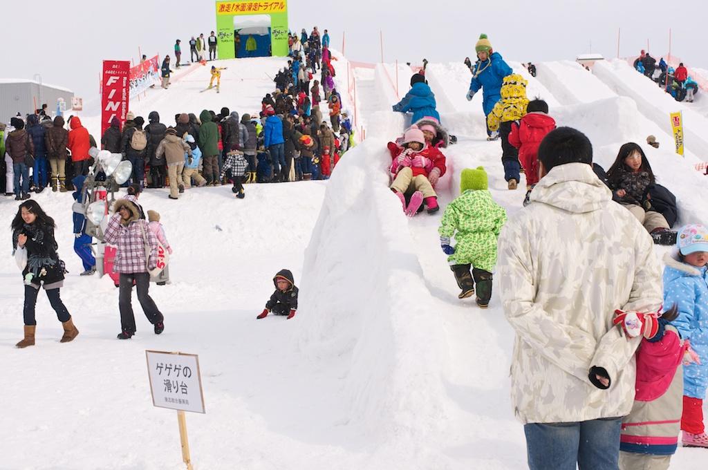 Kutchan's own mini-snow festival