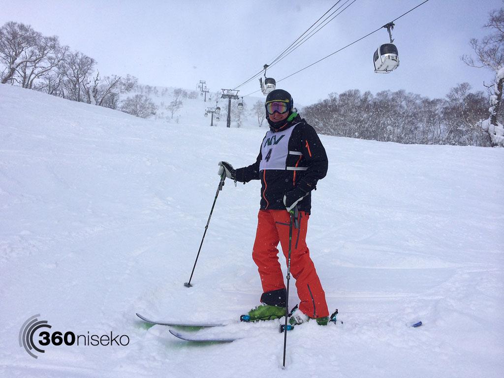 Skiing Mizuno-sawa, 11 February 2014