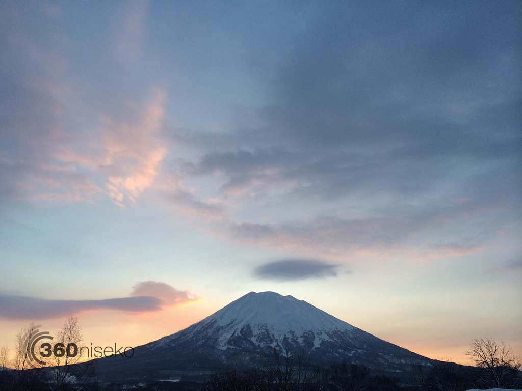 Niseko Sunrise, 2 February 2014