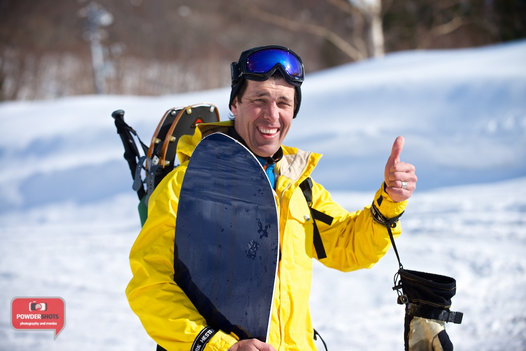 Bevan Colless from Niseko Physio