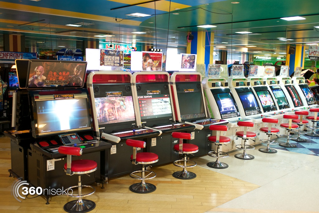 All the arcade games you could think of