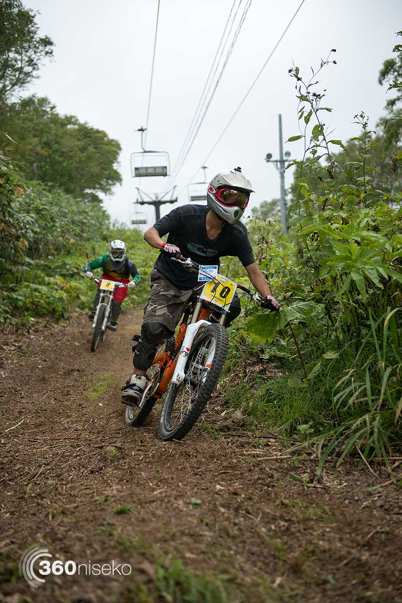 Practice runs down the new 'Free Ride' line, 30 August 2014