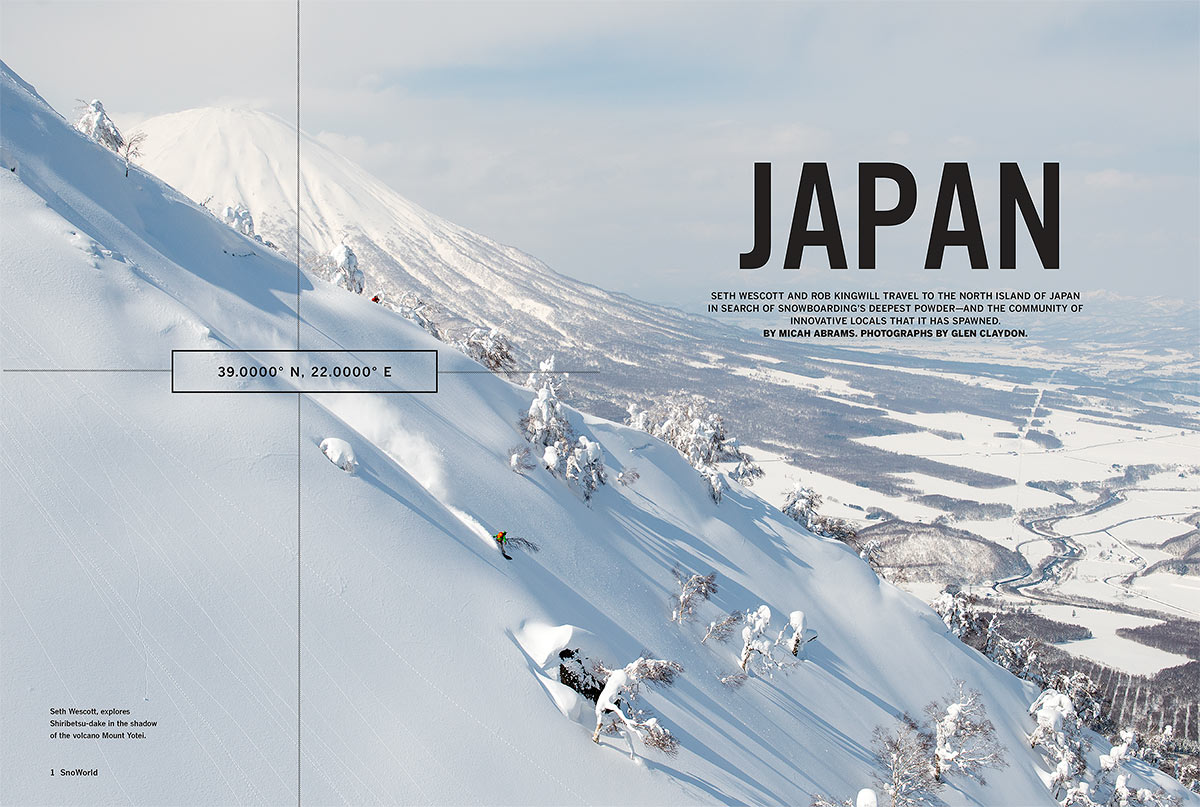 Warren Miller's SnoWorld Magazine for 'No Turning Back'