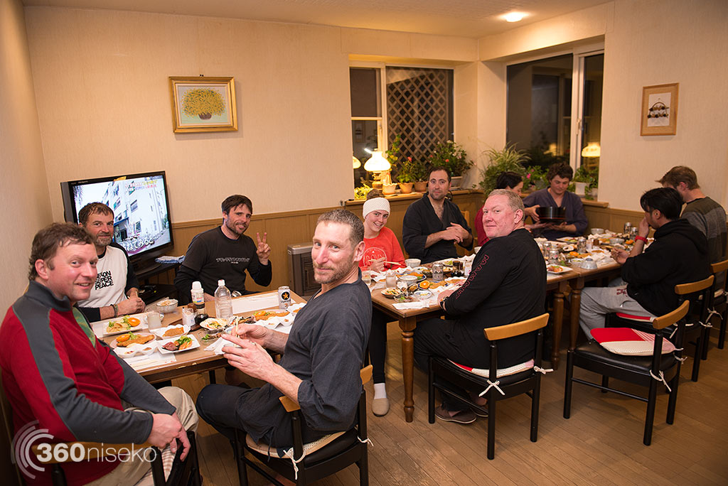 Dinner for champions, 19 January 2015