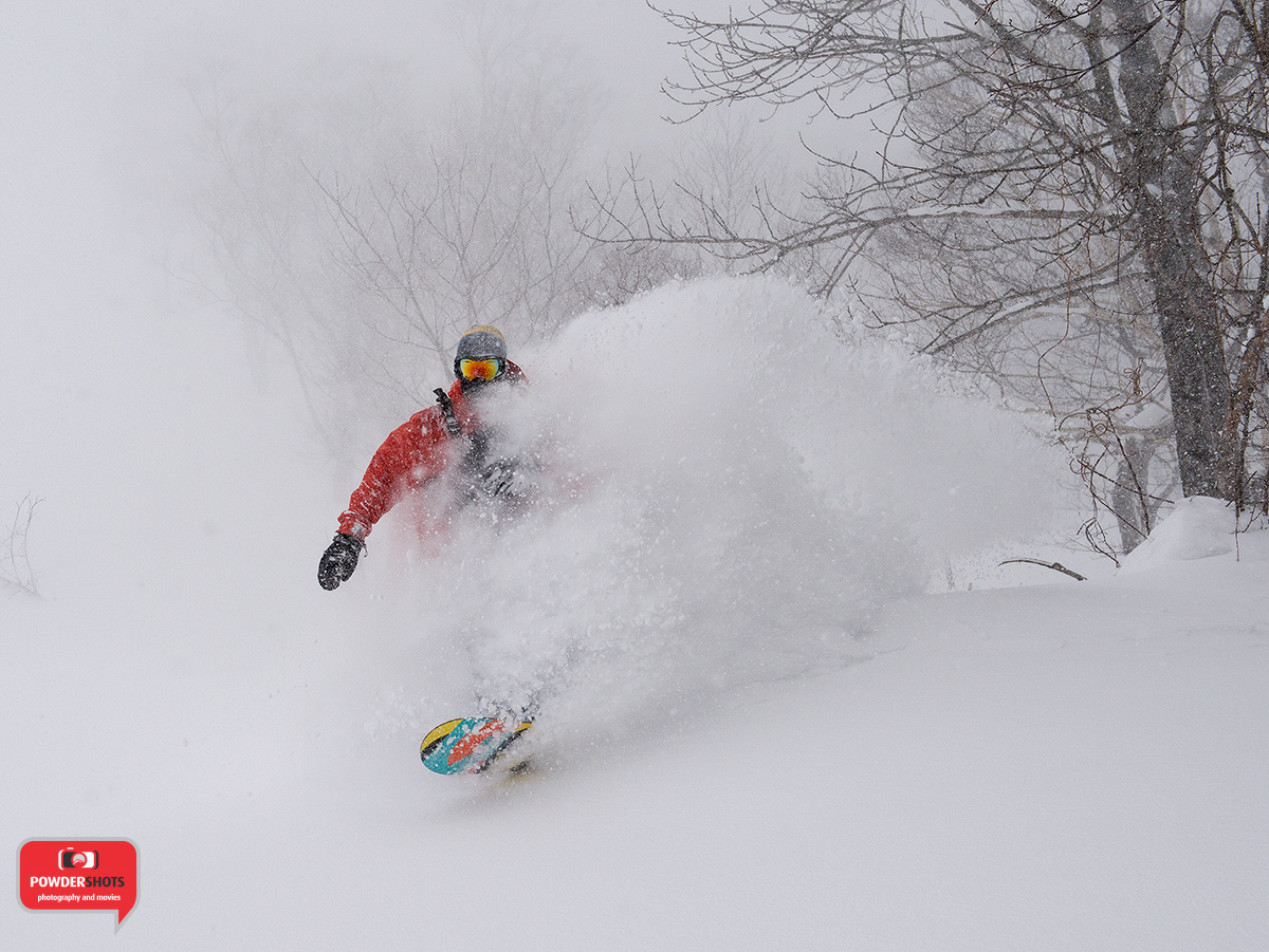 Powdershots Niseko, 1 February 2015