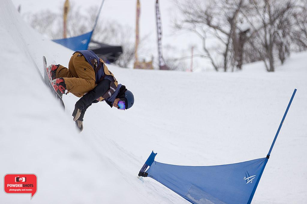 Hanazono Banked slalom shredder, 22 February 2015