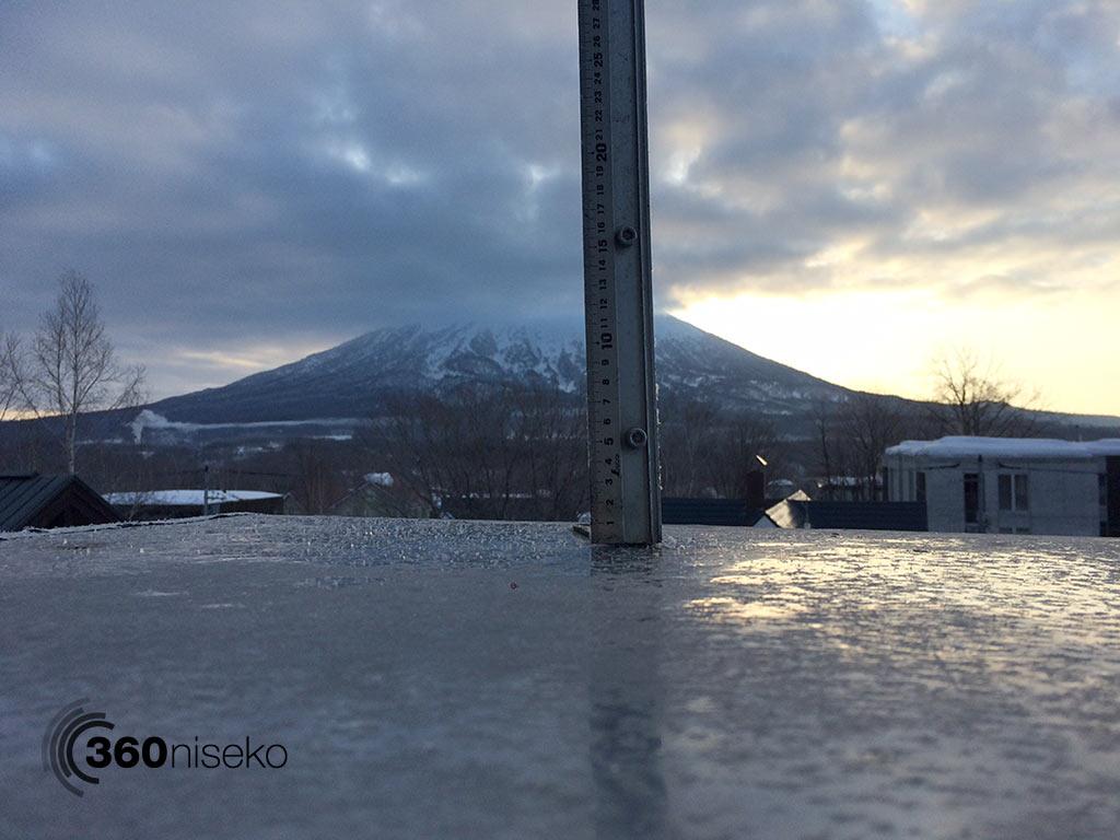 Snowfall in Hirafu Village, 6 February 2015