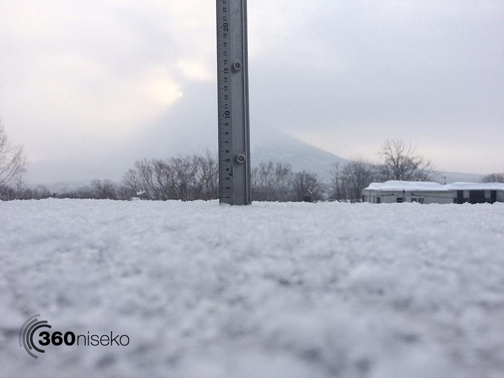 Snowfall in Hirafu Village, 6 March 2015