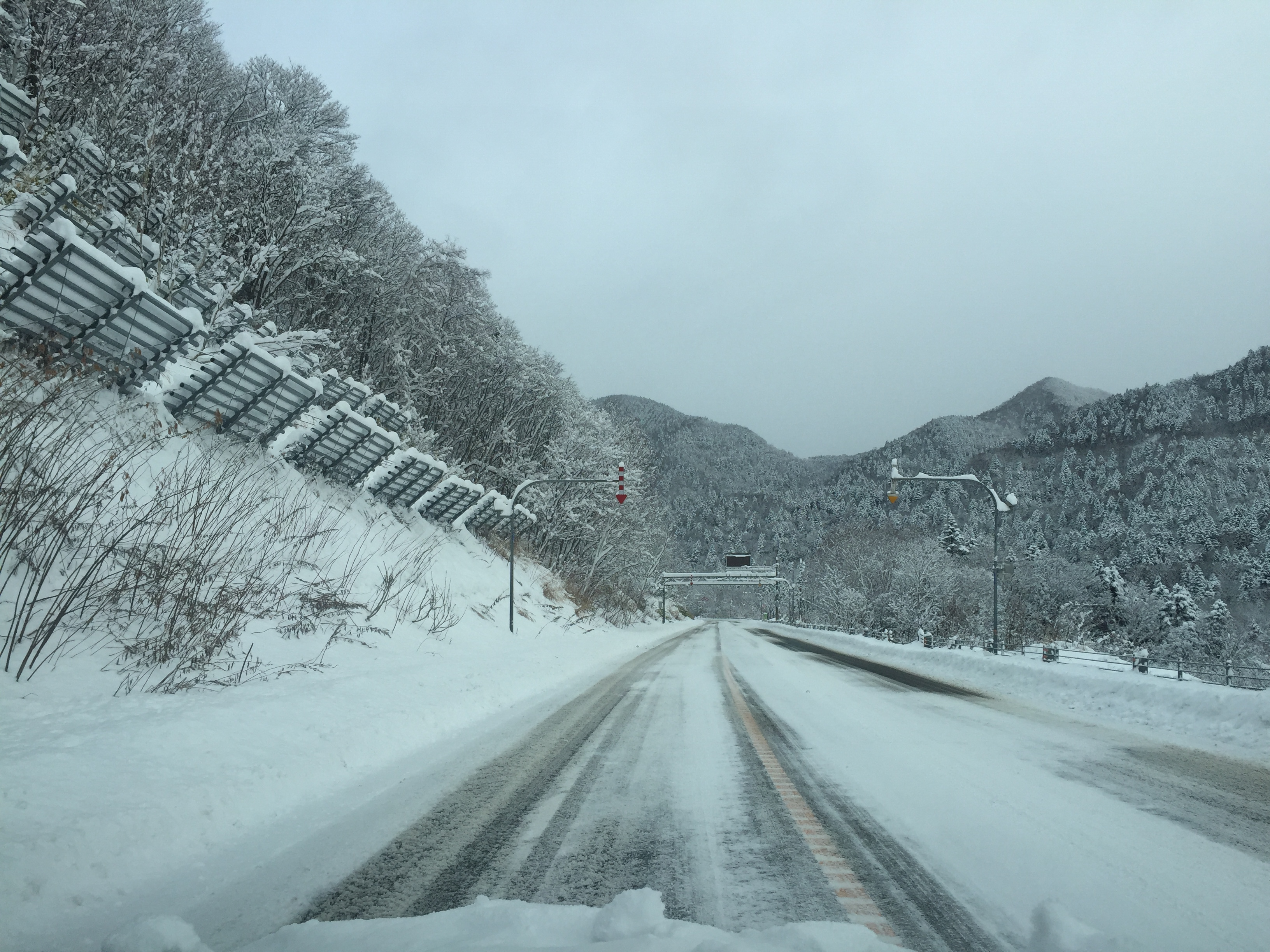 Winter Roads, 25 November 2015