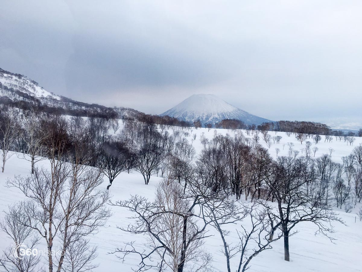 Mt.Yotei from the Annupuri Gondola, 12 February 2016