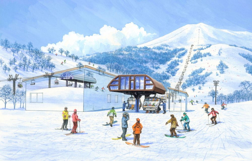 The new King Lift #4 due to open in December 2016
