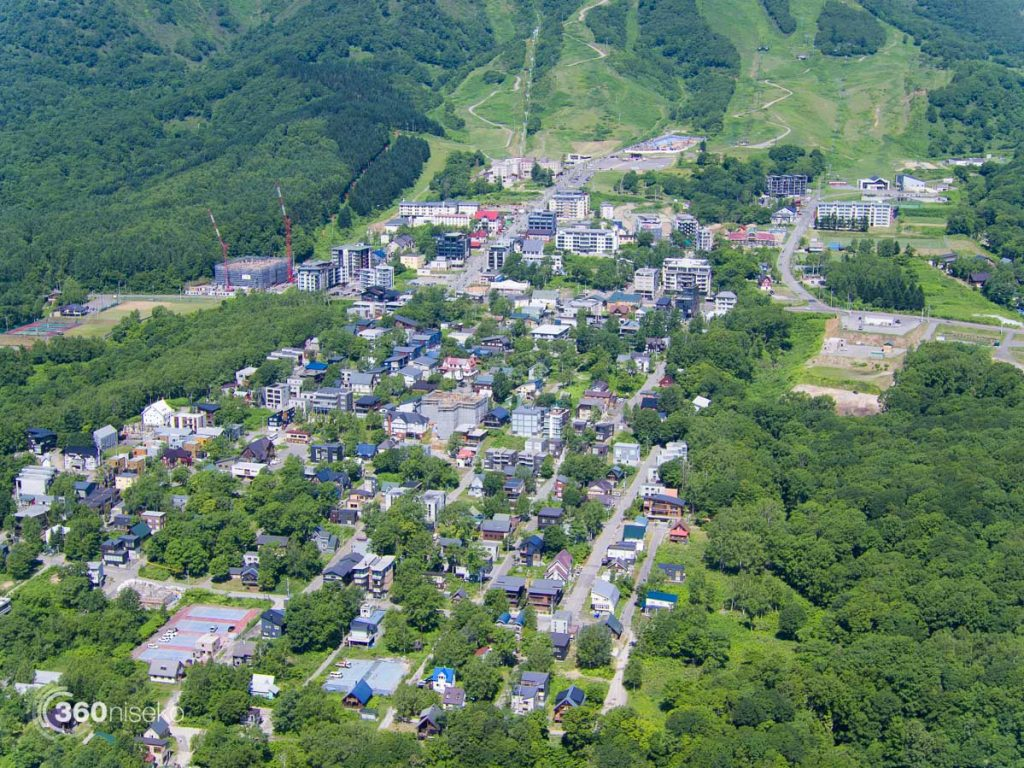 Hirafu Village looking good, 29 June 2016
