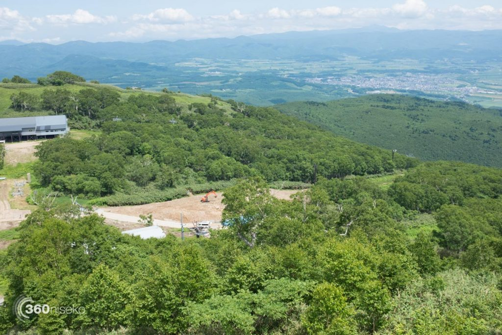 Upper mountain construction, 16 July 2016