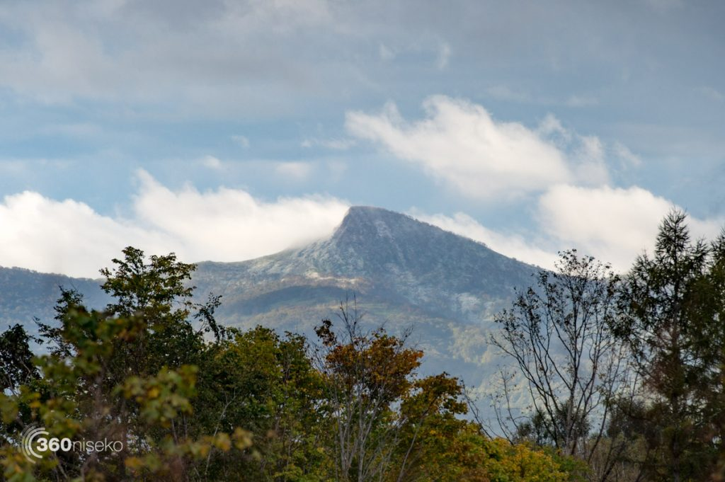 Mt.Konbu in the distance winking at us, 10 October 2016