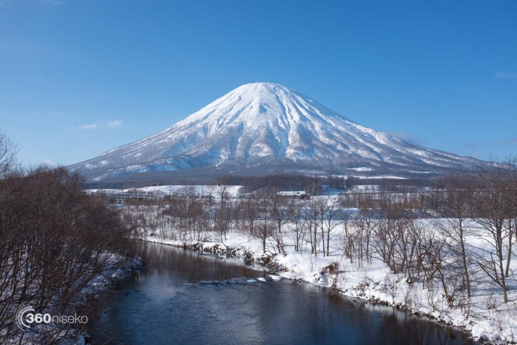 Mt.Yotei from Kyogoku, 8 January 2017