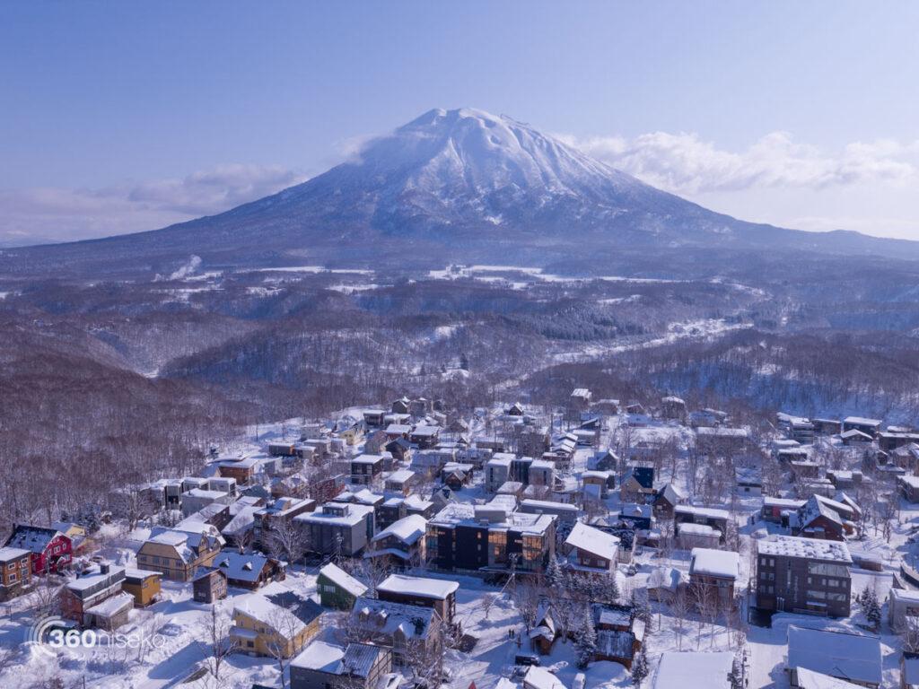Middle & Lower Hirafu Village, 20 January 2017