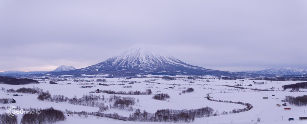 The north face of Mt.Yotei, 9 February 2017