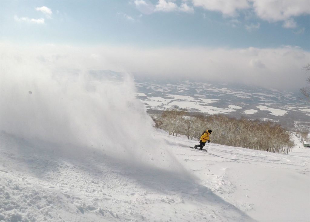 Owain coming out of the whiteroom, 7 March 2017