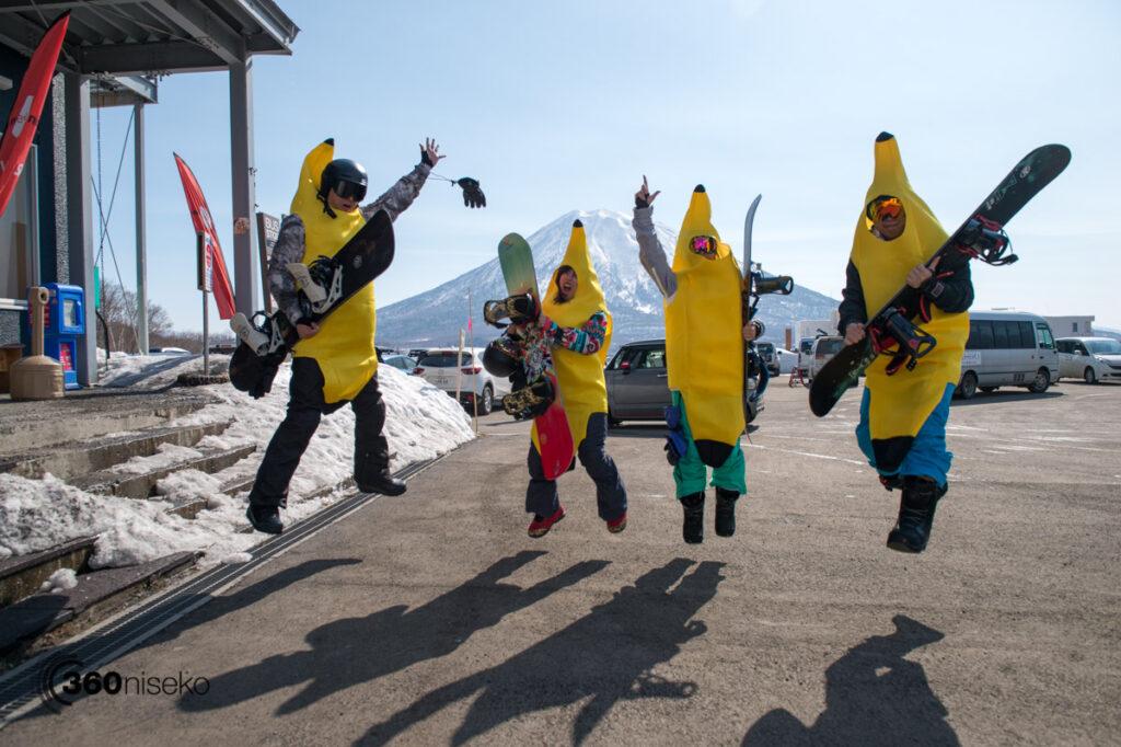 Team Banana stoked! 20 March 2017