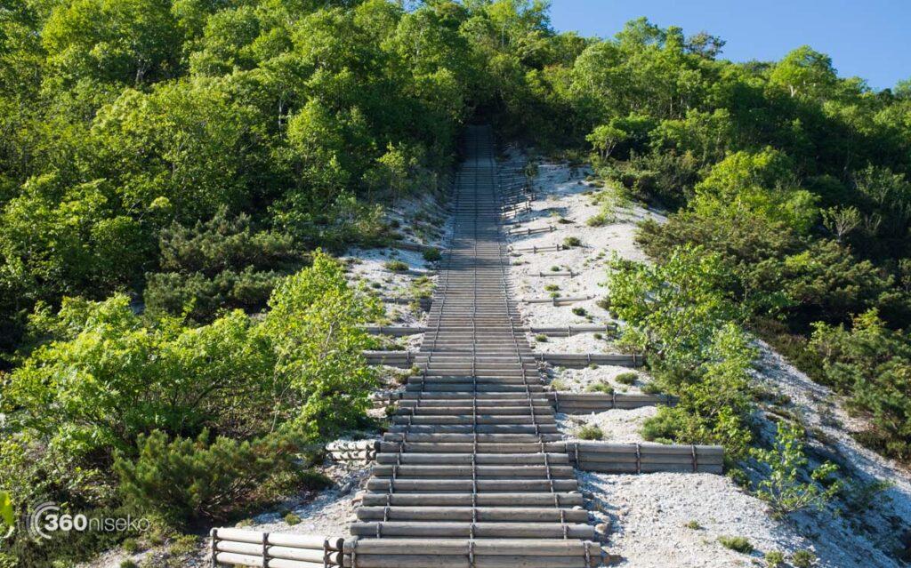 Stairs to Iwaonupuri & beyond, 5 June 2017