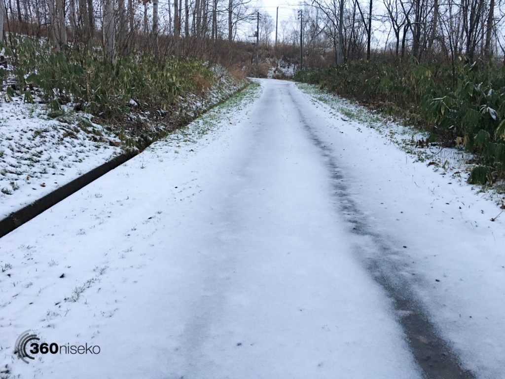 Snowy Road, 12 November 2017