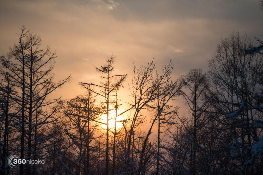 Sunset, 4 December 2017