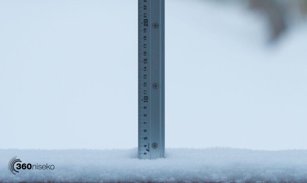Snowfall in Niseko,  8 December 2017
