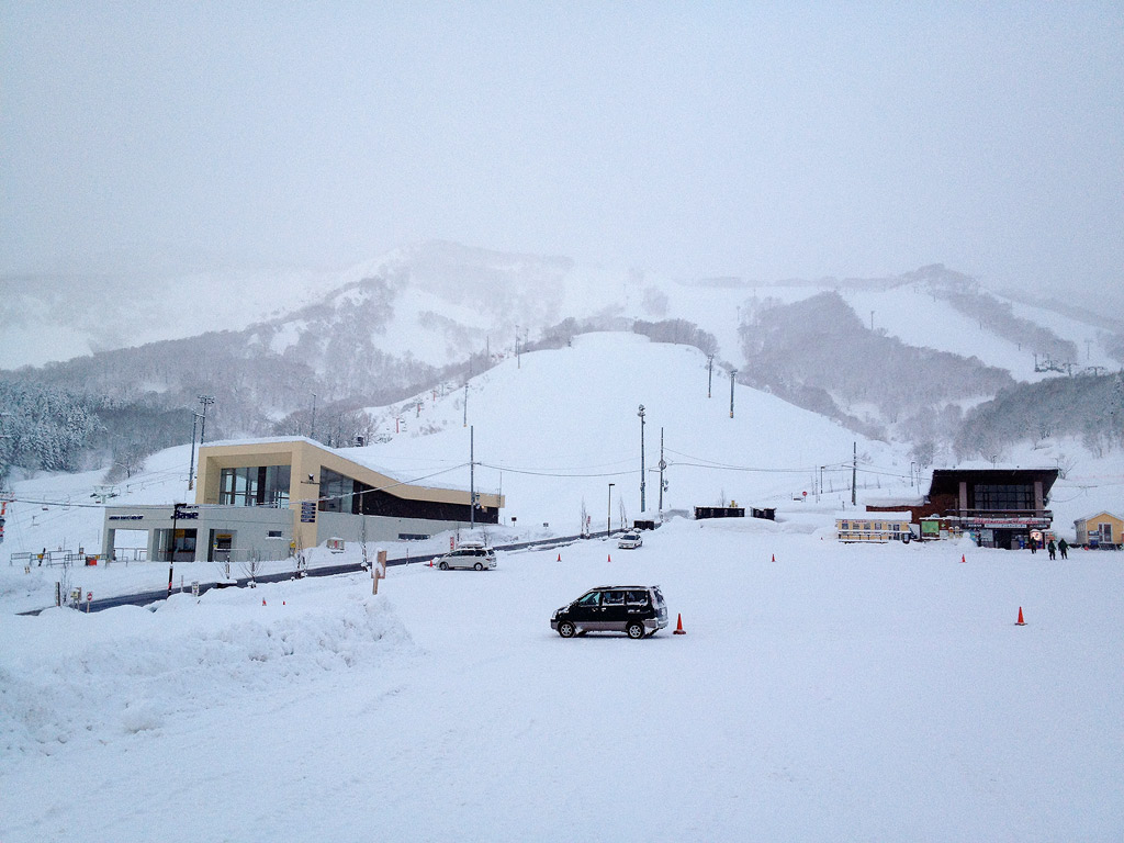 Hirafu .Base and Welcome Center, 4 January 2013