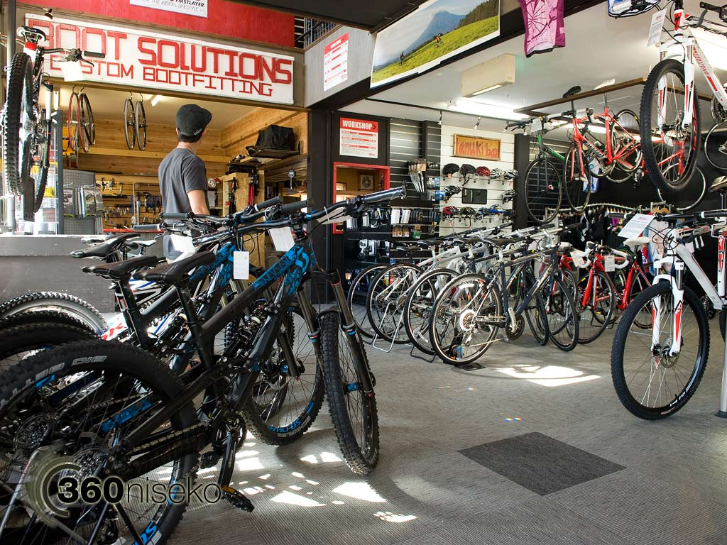 Retail section..... so many bikes to choose from! 31 May 2013