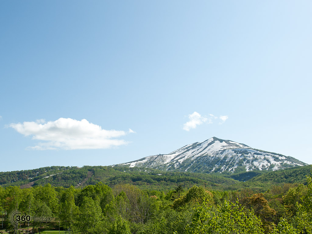 Mt. Annupuri and Hanazono, 4 June 2013