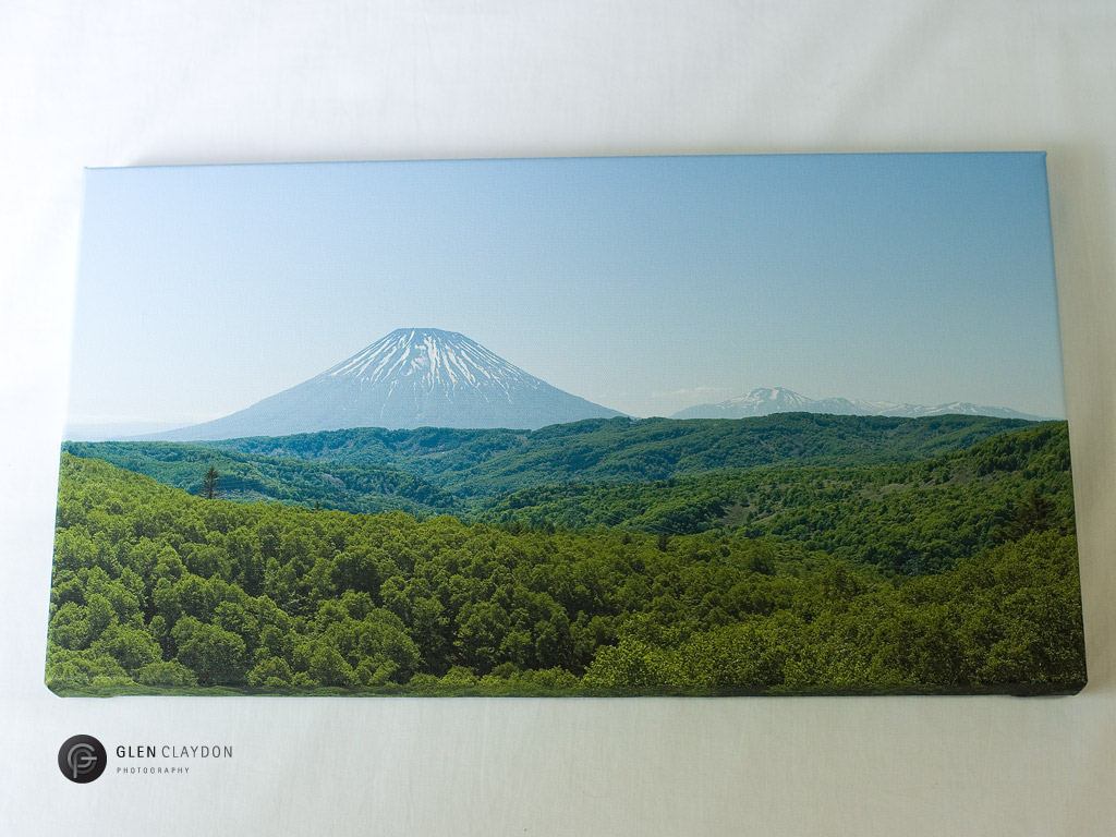 Mt.Yotei and Mt.Annupuri Print, 23 June 2013