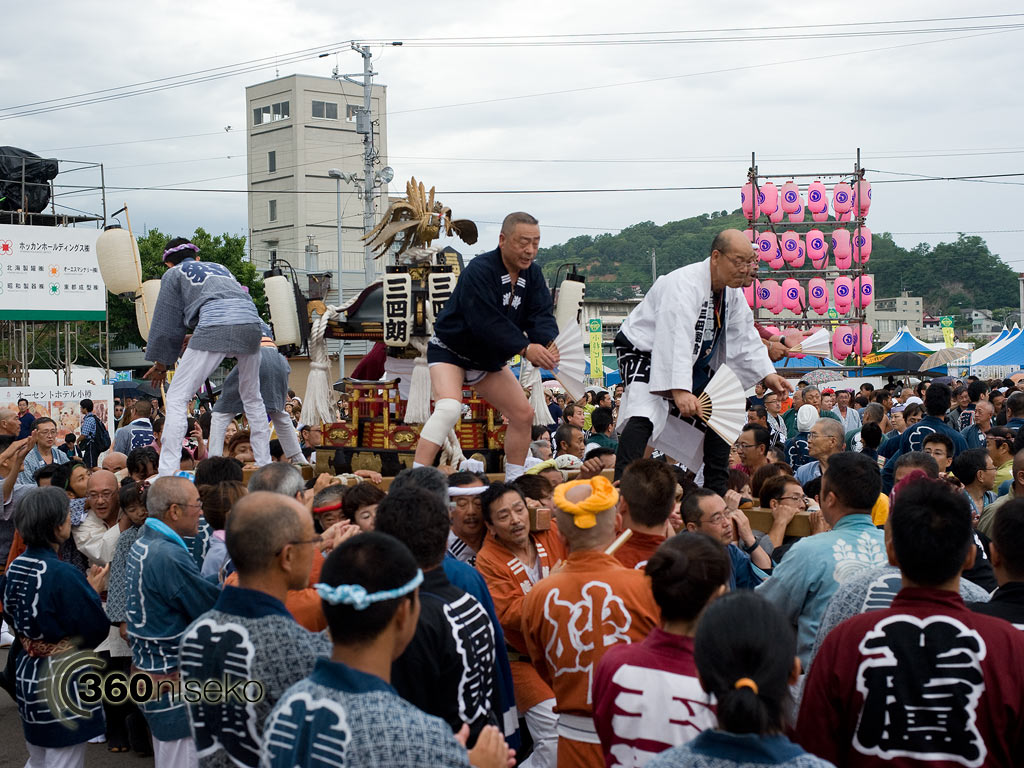 Otaru Ushio Festival - the final stage, 28 July 2013