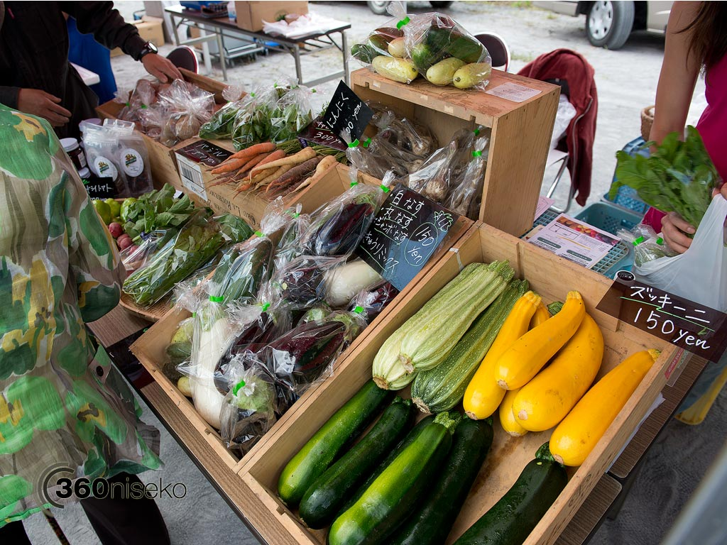 Delicious locally grown vegetables, 2 August 2013
